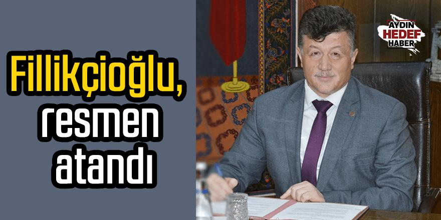 Fillikçioğlu'nun atama kararı Resmi Gazete'de