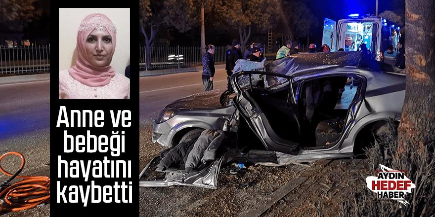 Kazada anne ve bebeği öldü