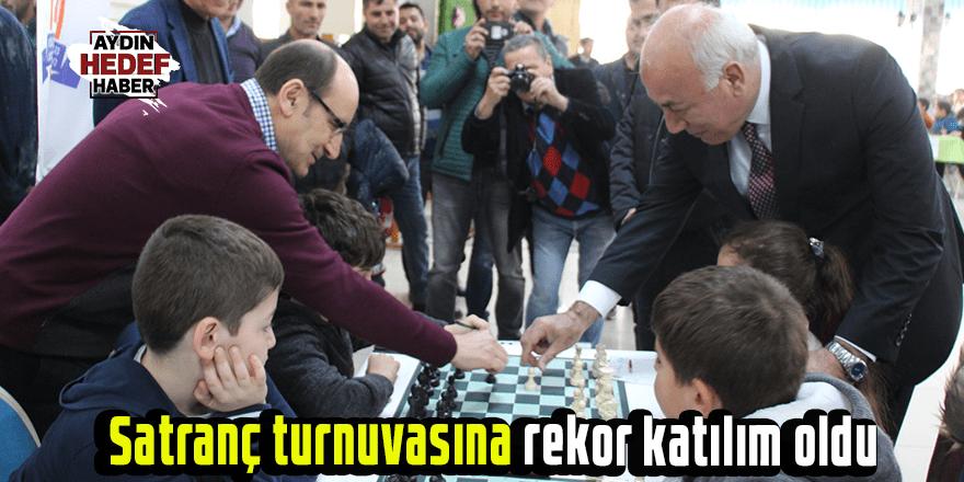 Satranç turnuvasına rekor katılım oldu