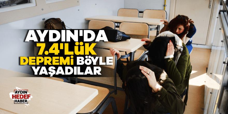 Gezici Deprem Simülasyon Tırı Aydın'da