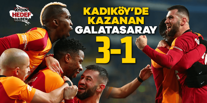 Kadıköy'de kazanan Galatasaray oldu