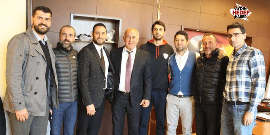 Şampiyondan Başkan Tuncel'e ziyaret