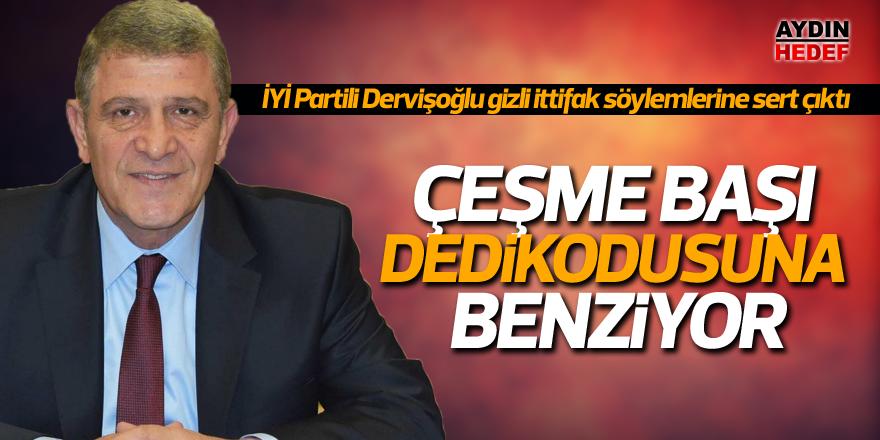 İYİ Partili Dervişoğlu gizli ittifak söylemlerine sert çıktı