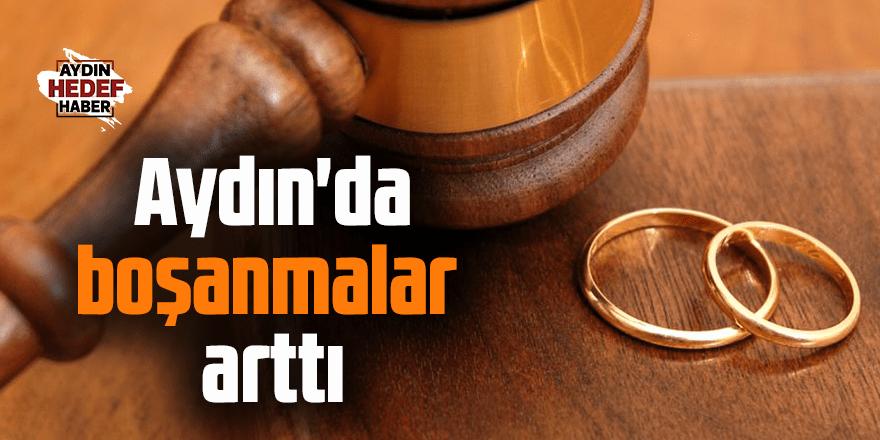 Aydın'da boşanan çift sayısı arttı