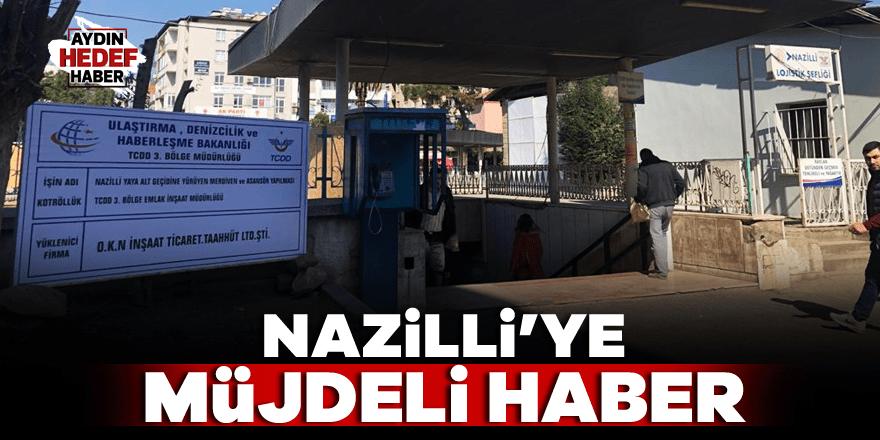 Nazilli'ye müjdeli haber AK Partili Erim'den geldi