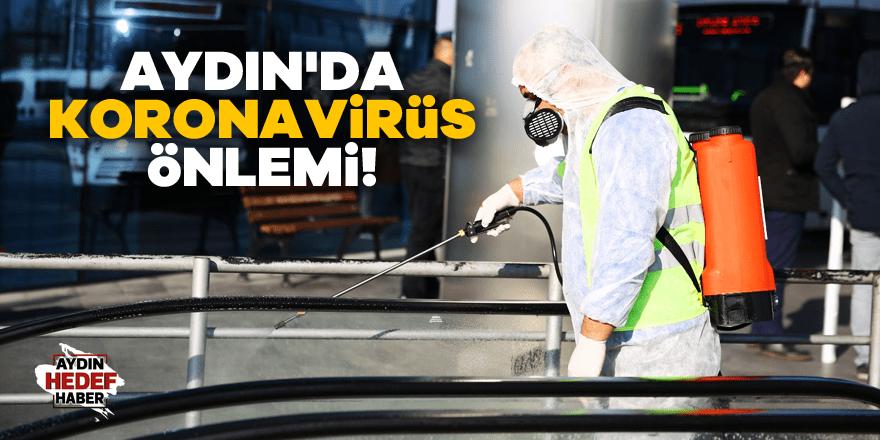 Aydın'da koronavirüs önlemi