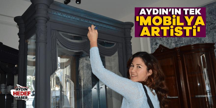 Aydın'ın tek 'Mobilya Artisti'