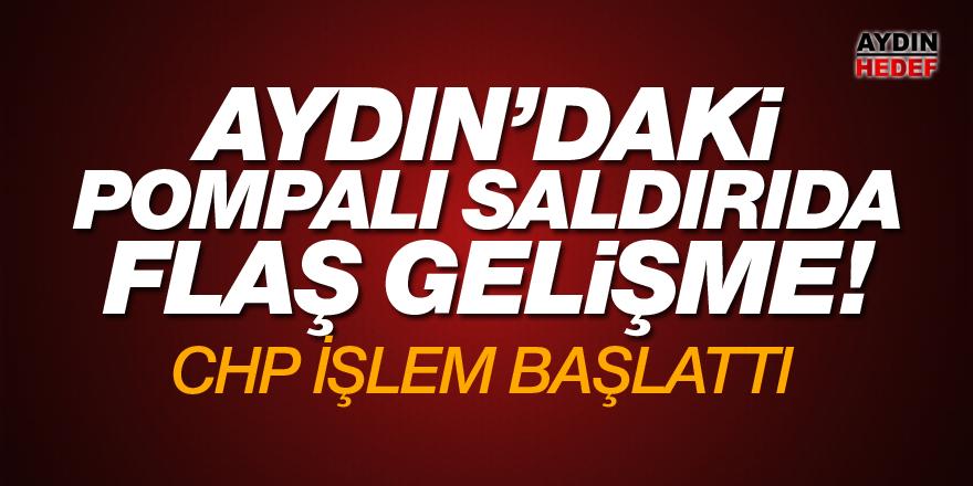 Aydın'daki pompalı saldırıda flaş gelişme!