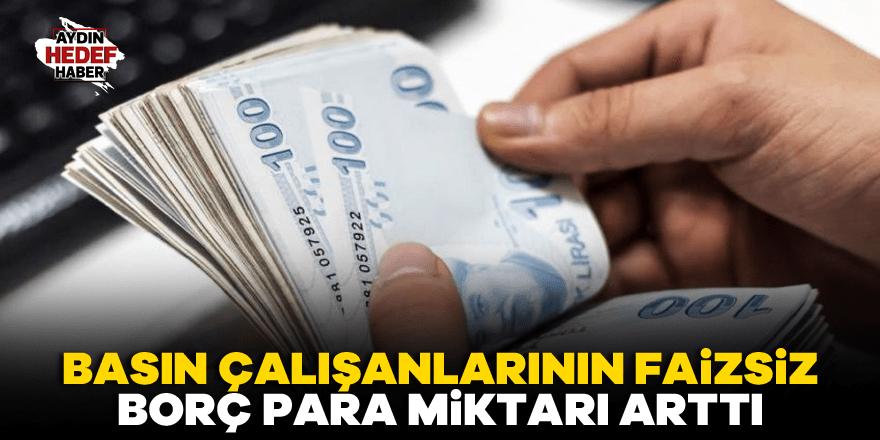 BİK basın çalışanlarına verdiği borç 6 bin TL oldu