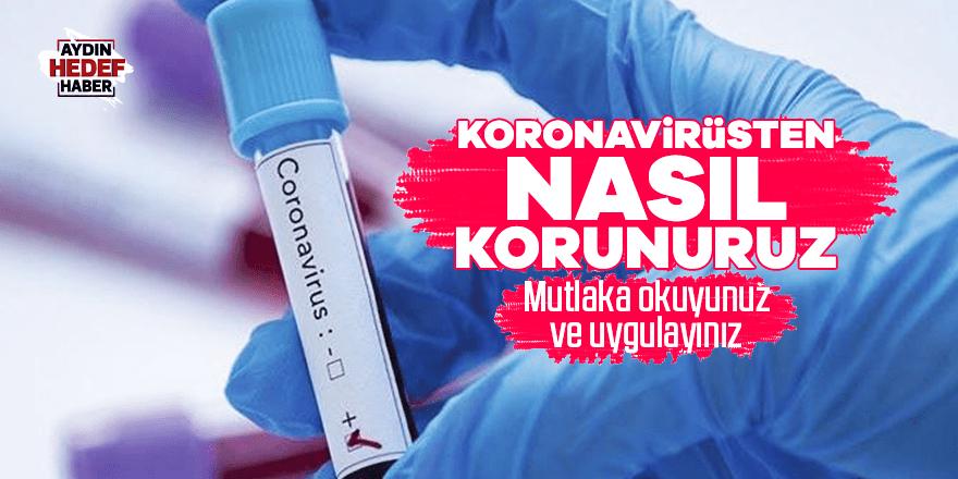 Koronavirüsten nasıl korunuruz?