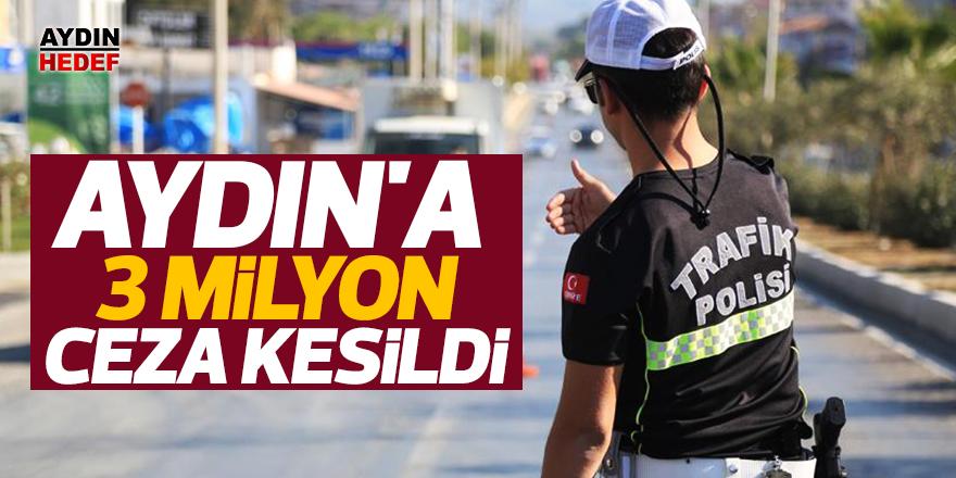 Aydın'a 3 milyon ceza kesildi