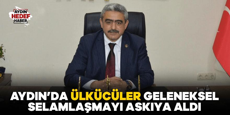 Aydın'da Ülkücüler geleneksel selamlaşmayı askıya aldı