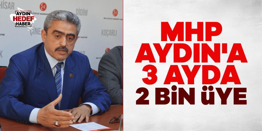 MHP Aydın'a 3 ayda 2 bin üye