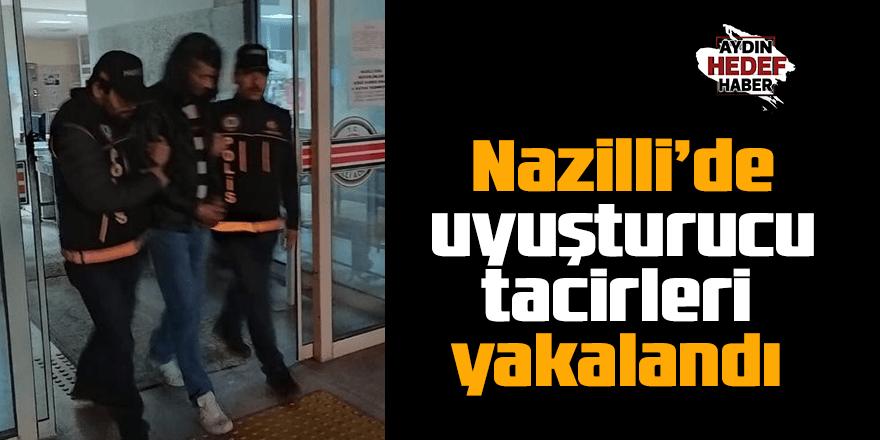 Nazilli'de uyuşturucu tacirleri yakalandı