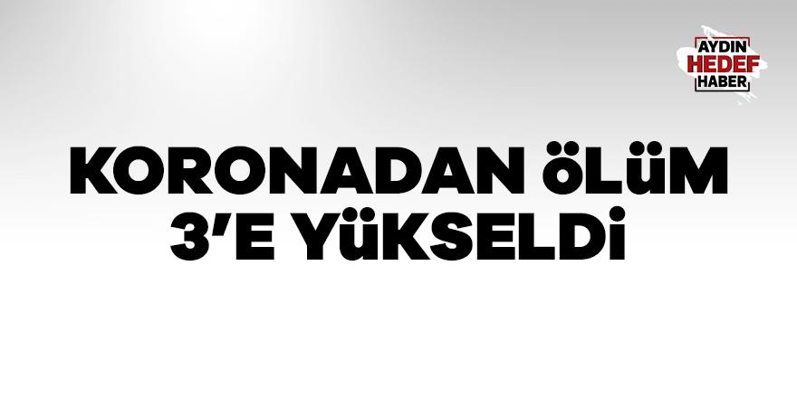 Türkiye'de koronadan ölen sayısı 3 oldu