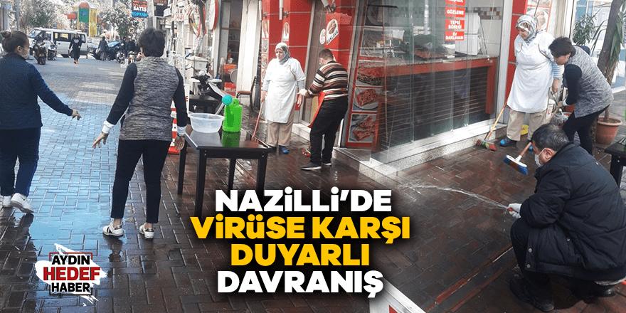 Nazilli'de virüse karşı duyarlı davranış