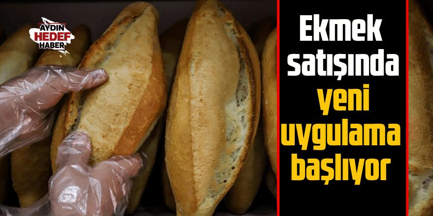 Artık ekmekler ambalajlı satılacak