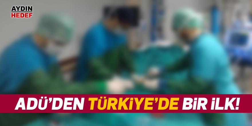 ADÜ'den Türkiye'de bir ilk!