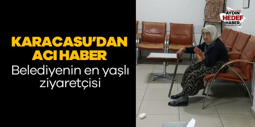 Karacasu Belediyesi'nin en yaşlı ziyaretçisi evinde ölü bulundu