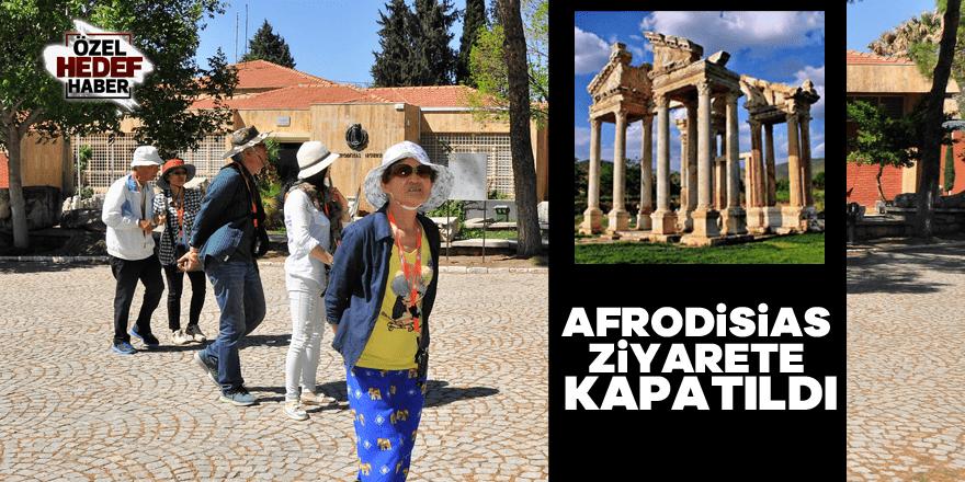 Afrodisias ay sonuna kadar ziyarete kapatıldı