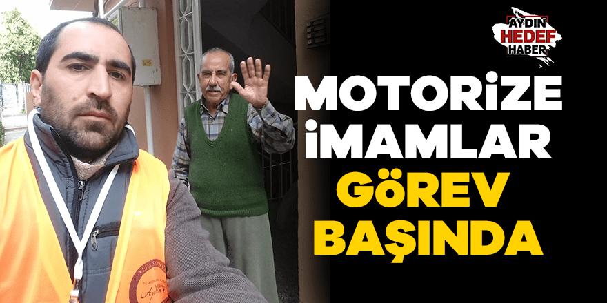 Aydın'da motorize imamlar görev başında
