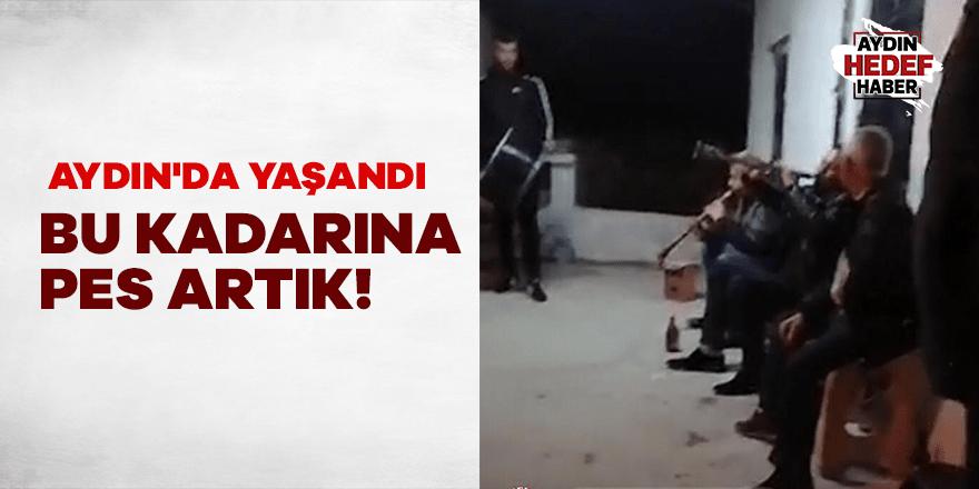 Aydın'da yaşanan olay pes dedirtti