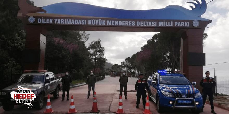 Milli Parkı ziyaretçi girişine kapatıldı