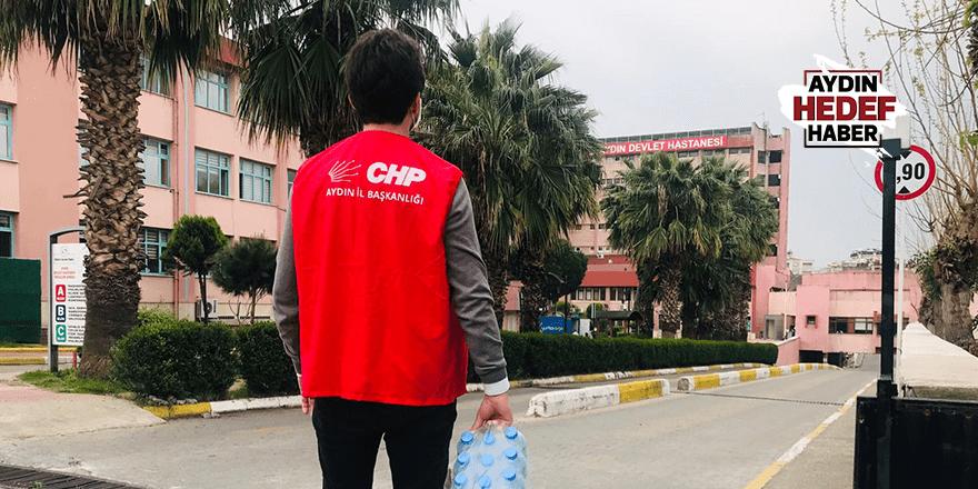 CHP Efeler Gençlik Sağlıkçılarla El Ele