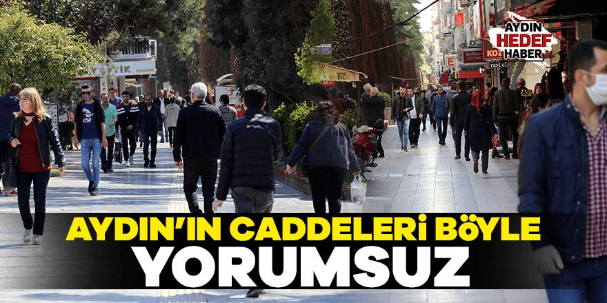 Aydın'ın caddeleri dolup taşıyor