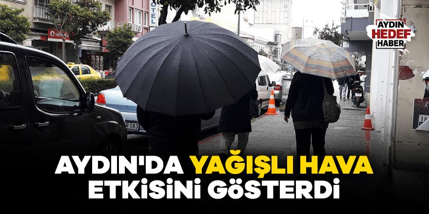 Aydın'da yağışlı hava etkisini gösterdi