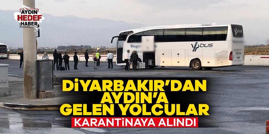 Diyarbakır'dan gelen yolcular karantinaya alındı