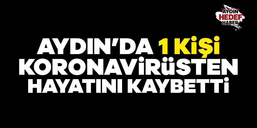 Aydın'da 1 kişi koronavirüsten hayatını kaybetti