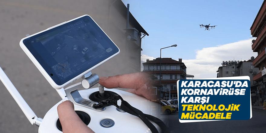 Karacasu'da kornavirüse karşı teknolojik mücadele