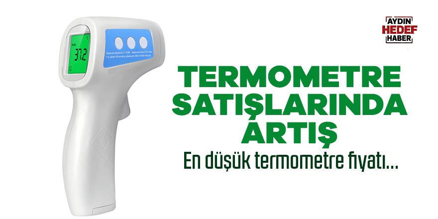Termometre satışlarında artış