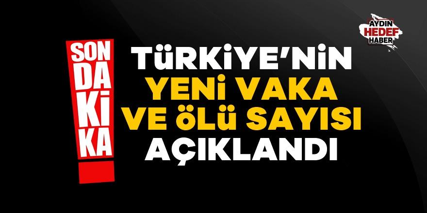 Bakan Koca Türkiye'de yeni vaka sayıları açıkladı