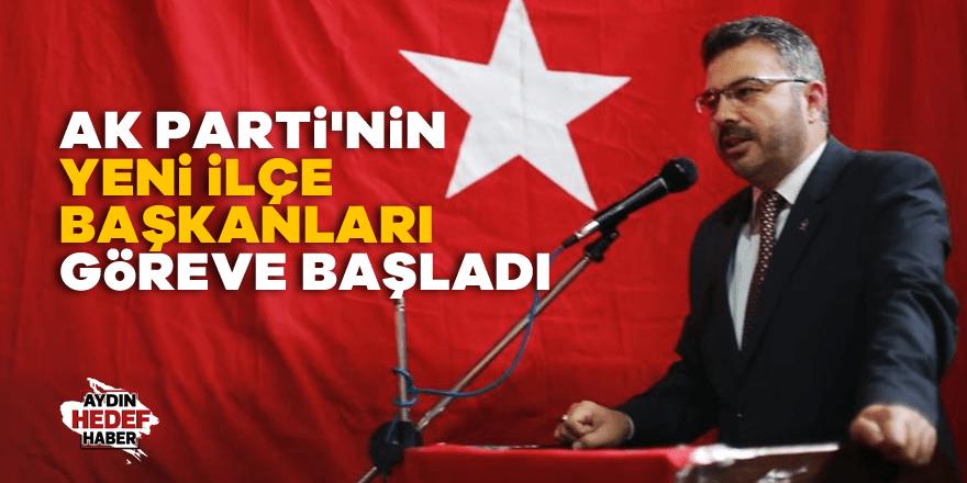 AK Parti'nin yeni ilçe başkanları göreve başladı