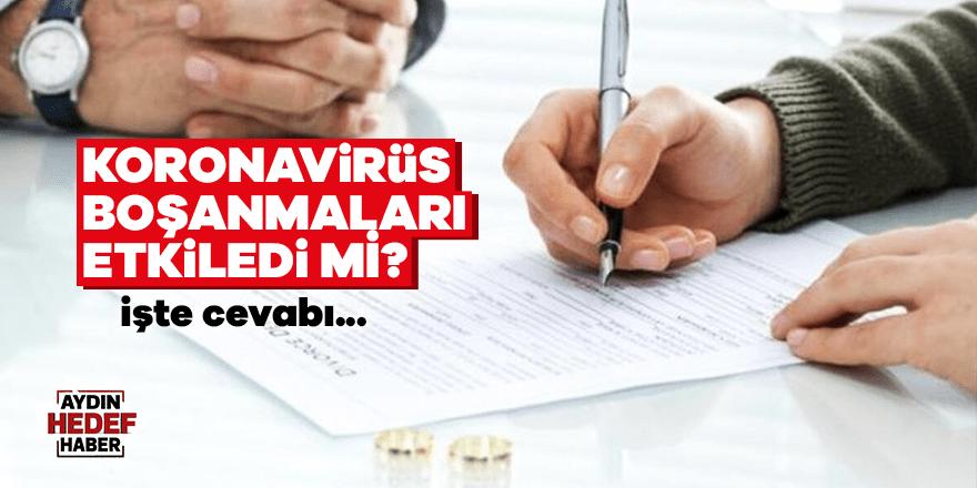 Koronavirüs boşanmaları etkiledi mi?
