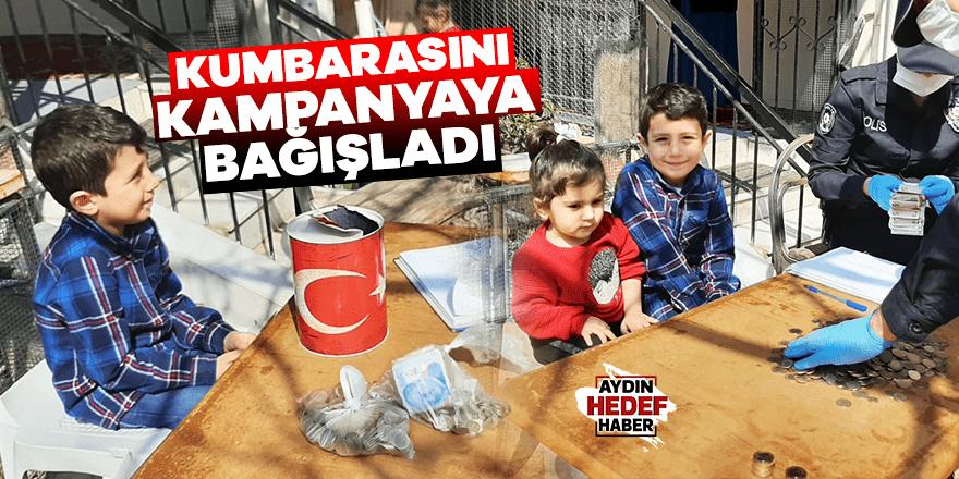 Aydın Muhammed'ten kampanyaya bağış