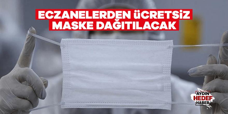 Eczanelerde ücretsiz maske dağıtılacak