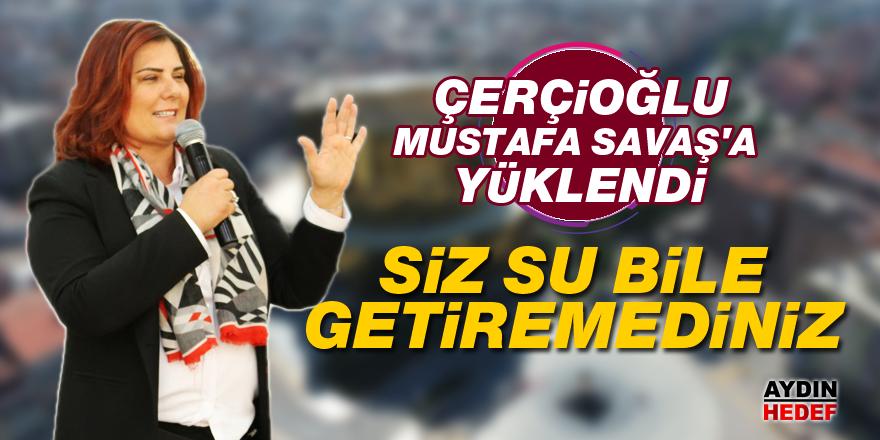 Çerçioğlu, Mustafa Savaş'a yüklendi