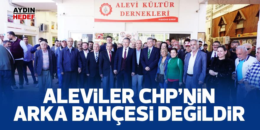 """""""Aleviler CHP'nin arka bahçesi değildir"""""""