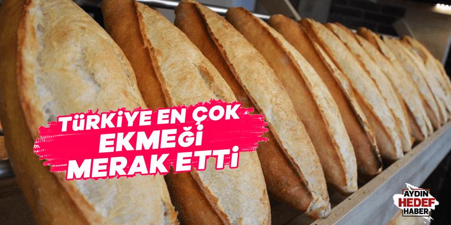 Türkiye en çok ekmeği merak etti