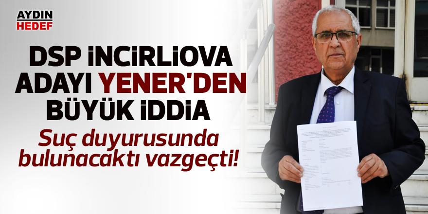 Ayhan Yener'den büyük iddia