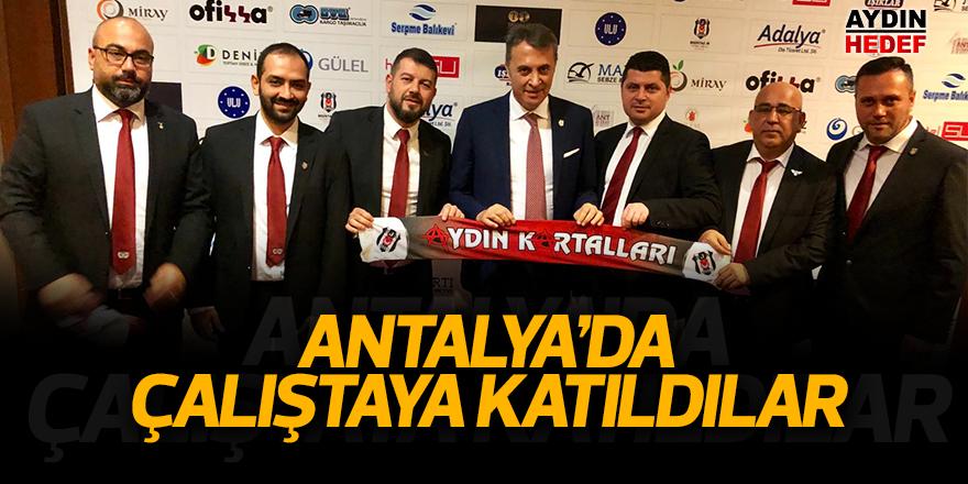 Antalya'da çalıştaya katıldılar
