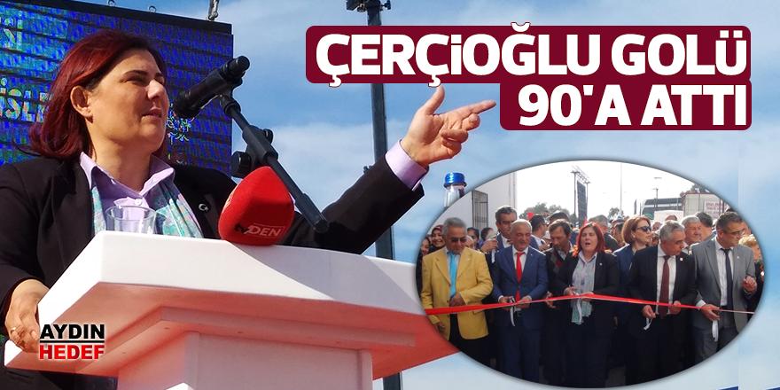Çerçioğlu golü 90'a attı