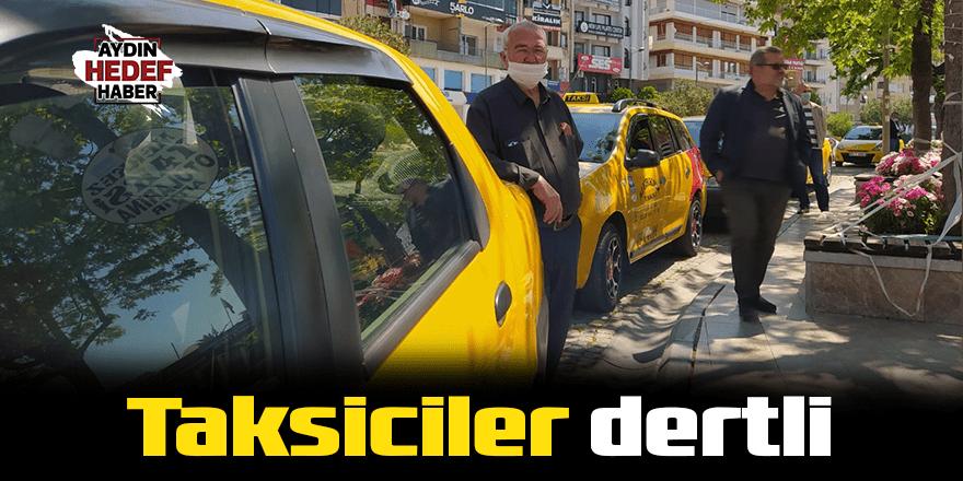 Taksiciler dertli