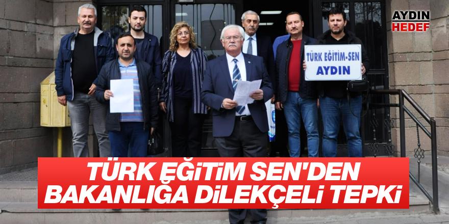 Türk Eğitim Sen'den dilekçeli tepki