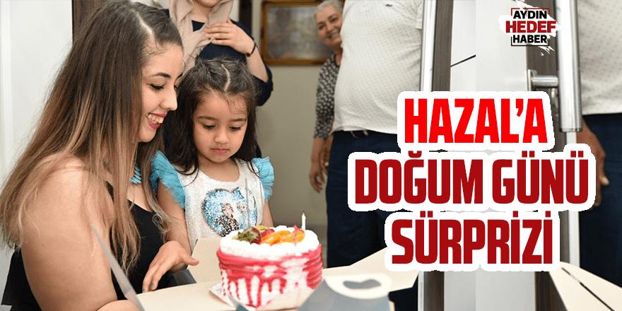 Hazal'a doğum günü sürprizi