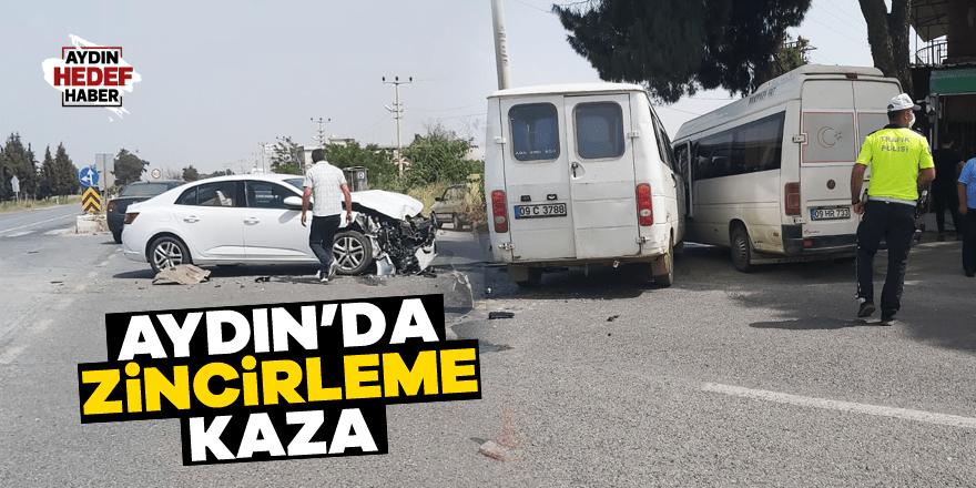 Aydın'da zincirleme kaza