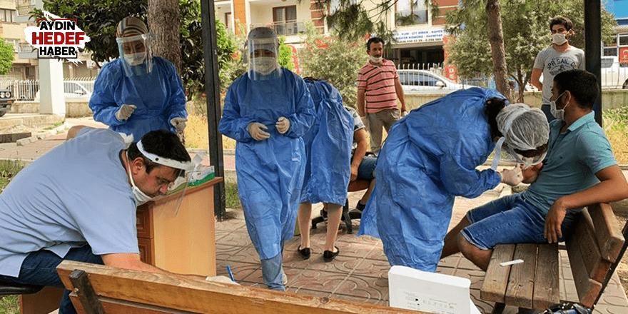 İncirliova'da test sonuçları belli oldu